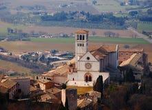 Assisi Italien royaltyfria bilder