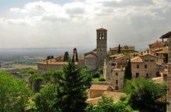 Assisi, Umbrië Stock Foto's