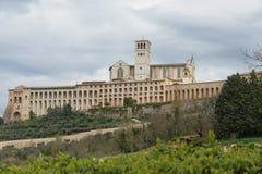 Assisi in Umbrië, Italië royalty-vrije stock foto
