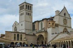 Assisi in Umbrië, Italië royalty-vrije stock foto's