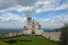 Assisi in Umbrië, Italië Stock Afbeelding