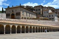 Assisi - Umbrië - Italië - Europa Stock Foto's