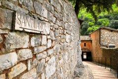 Assisi Umbria royaltyfria foton