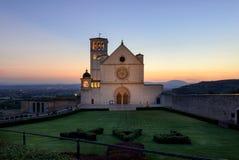 Assisi (Umbria) Basilica di San Francesco Stock Images