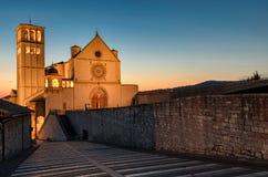 Assisi (Umbria) Basilica di San Francesco Stock Photo