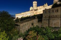 Assisi (Umbria) Basilica di San Francesco Stock Photography