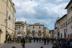 Assisi in Umbria, Italia Immagine Stock