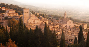 Assisi in Umbria, Italy. Stock Photography
