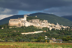 Assisi (Umbria, Italy) royalty free stock photo