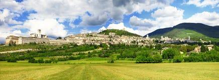 Assisi, Umbria, Włochy Zdjęcia Royalty Free