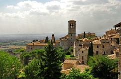 Assisi, Umbrien Stockfotos