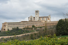 Assisi in Umbrien, Italien Lizenzfreies Stockfoto