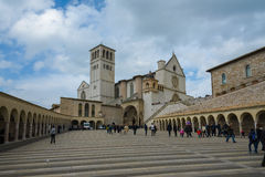 Assisi in Umbrien, Italien Stockfotografie