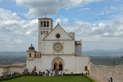 Assisi in Umbrien, Italien Lizenzfreie Stockbilder