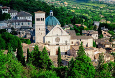 Assisi view Stock Images