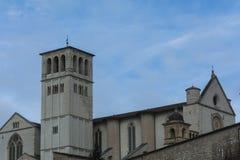 Assisi (Włochy) kościół Obrazy Royalty Free