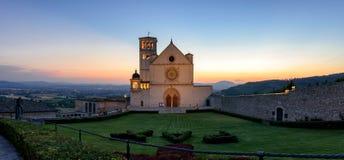 Assisi & x28; Umbria& x29; Базилика di Сан Francesco Стоковое фото RF