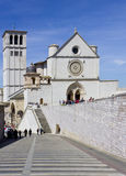 assisibasilica francesco san Royaltyfria Bilder