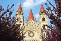 assisifranz kirche von Arkivfoton