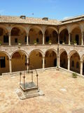 Assissi Monastery. Monastery for Franciscan Monks in Assissi, Italy stock image
