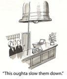 Assista il segnalatore acustico illustrazione di stock