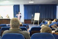 Assistance à la salle de conférences Photo libre de droits