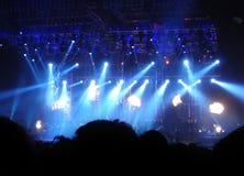 Assistance au concert images stock