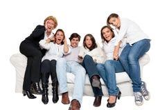 Assistance nerveuse de TV Photo libre de droits