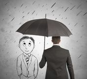 Assistance in your business stock illustration