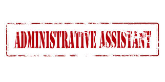 Assistant administratif Photos stock