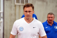 Assistant coach of FC Dnipro Nagornyak Serhiy Royalty Free Stock Image