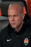 Assistant coach of FC Shakhtar Donetsk Antonio Car Stock Photo
