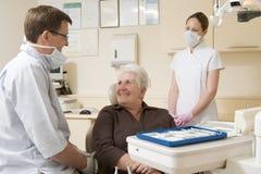 assistant dentist exam room Στοκ Φωτογραφία