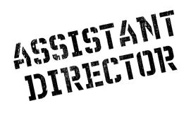 Assistant Director rubber stamp Stock Photo