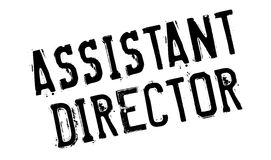 Assistant Director rubber stamp Royalty Free Stock Images