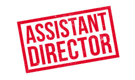 Assistant Director rubber stamp Royalty Free Stock Image