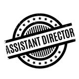 Assistant Director rubber stamp Stock Image