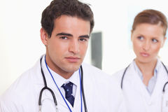 Assistant doctors standing next to each other Stock Photography