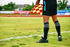 Assistant referee Royalty Free Stock Photos