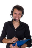 Assistant smiling Royalty Free Stock Image