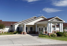 Assisted Living Facility Entrance Stock Photography