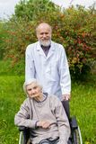 Assisted living royalty free stock image