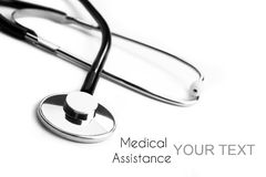 Assistence medico di bisogno fotografie stock