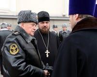 Assistent zum Minister von inneren Angelegenheiten der Russischen Föderation der allgemeine-d Oberst des internen Services Ivan S Stockfoto