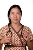 Assistente della clinica Fotografie Stock Libere da Diritti