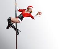 Assistente di Santa Fotografie Stock Libere da Diritti