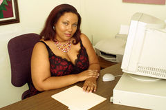 Assistente do escritório imagem de stock royalty free