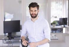 Assistente financeiro novo fotografia de stock royalty free