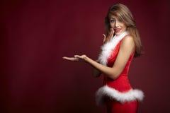 Assistente sexy della Santa Fotografie Stock