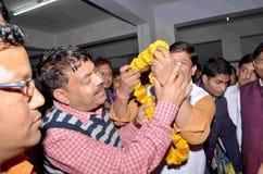 Assistente social em Jaipur fotografia de stock royalty free